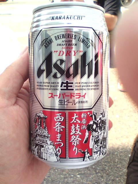 祭りのビール